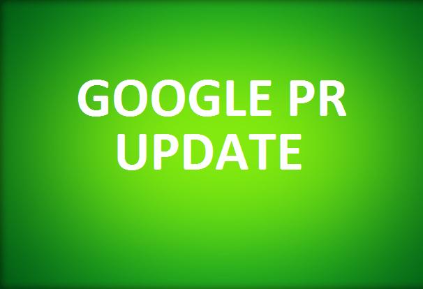 Kasım 2012 Pagerank Güncellemesi