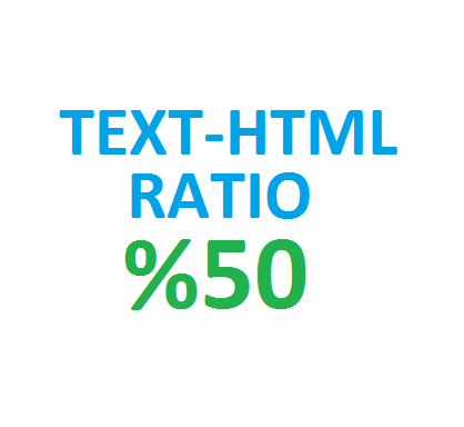 text html ratio
