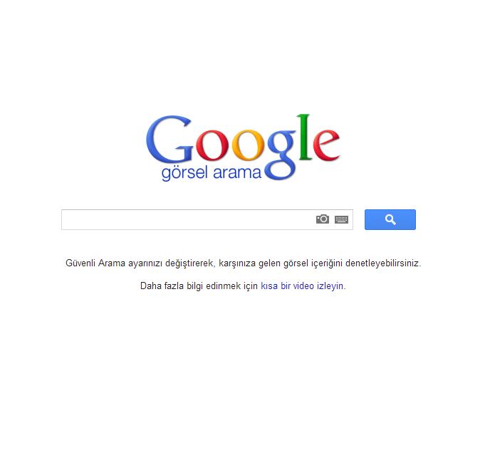 Yeni Google Görseller Bölümü