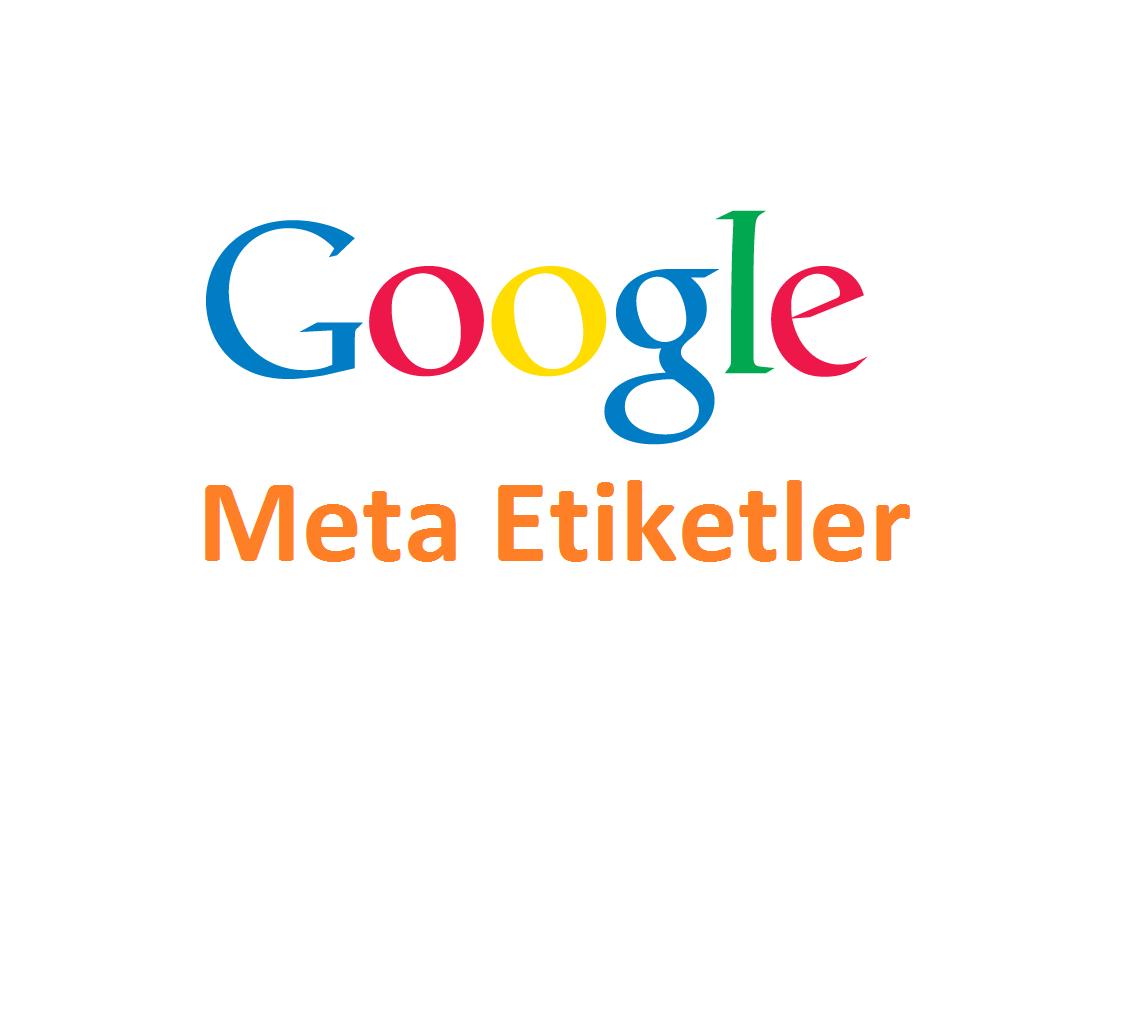 Google Meta Etiketler