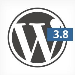 wordpress 3.8 güncellemesi